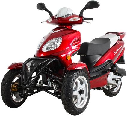 50cc Super Trike Scooter