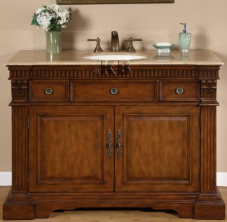 high quality 48 bathroom vanity cabinet with cherry