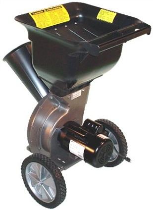 High Quality 1 5 Hp Electric Wood Chipper Leaf Shredder