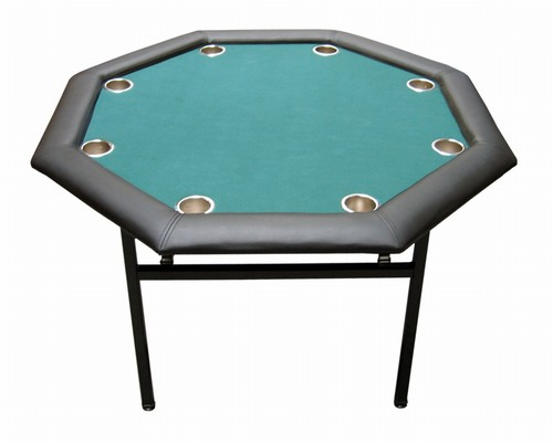 The All NEW Octagon Design TEXAS HOLDu0027EM Poker Table Will Save You Space  But Still Good For 8 Players. This Table Was Manufactured With Casino  Quality Felt ...